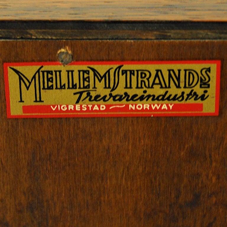 Midcentury Rosewood bar Baccus by Torbjørn Afdal, Norway 1955 For Sale 3