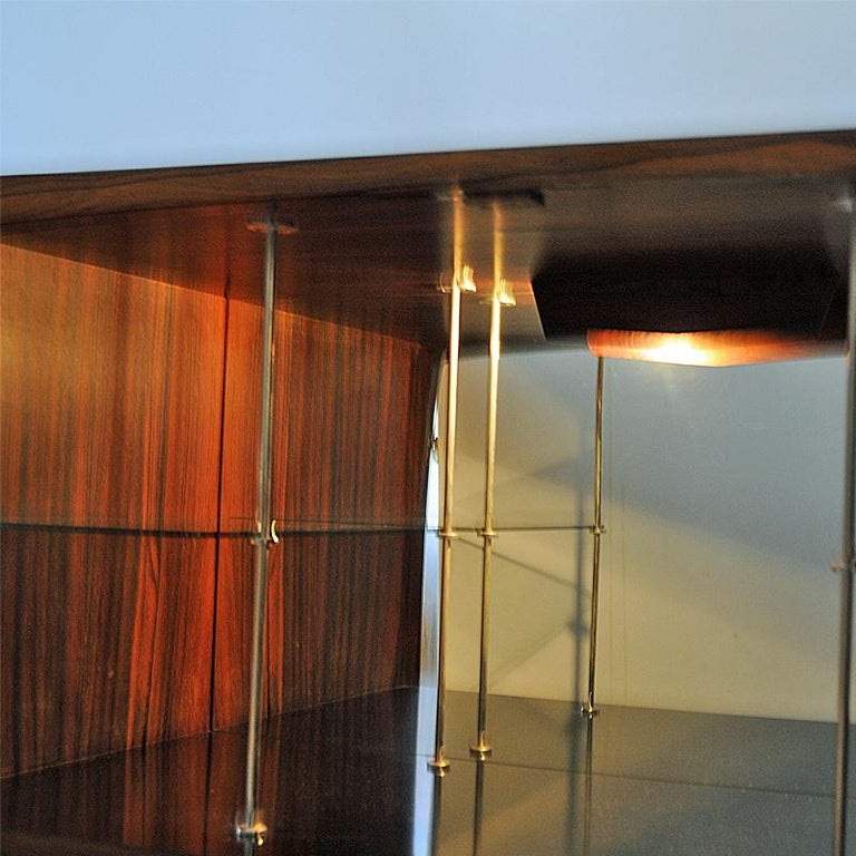 Mid-20th Century Midcentury Rosewood bar Baccus by Torbjørn Afdal, Norway 1955 For Sale