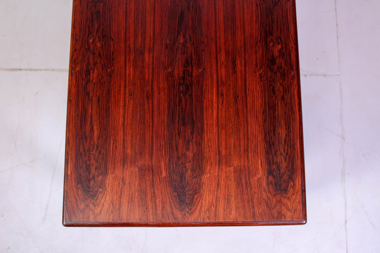 Midcentury Rosewood Coffee Table by Erling Torvits for Heltborg Møbler For Sale 4