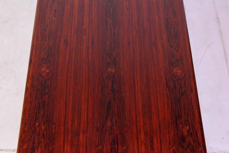 Midcentury Rosewood Coffee Table by Erling Torvits for Heltborg Møbler For Sale 5