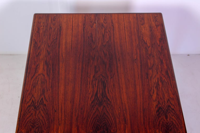 Midcentury Rosewood Coffee Table by Erling Torvits for Heltborg Møbler For Sale 6