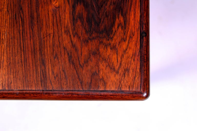 Midcentury Rosewood Coffee Table by Erling Torvits for Heltborg Møbler For Sale 7