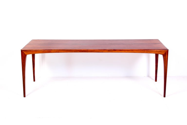 Danish Midcentury Rosewood Coffee Table by Erling Torvits for Heltborg Møbler For Sale
