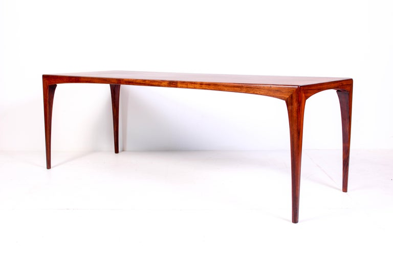 Mid-20th Century Midcentury Rosewood Coffee Table by Erling Torvits for Heltborg Møbler For Sale