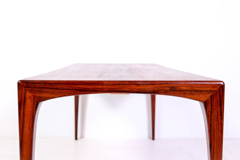 Midcentury Rosewood Coffee Table by Erling Torvits for Heltborg Møbler For Sale 3