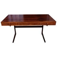 Midcentury Rosewood Desk by Georg Petersens