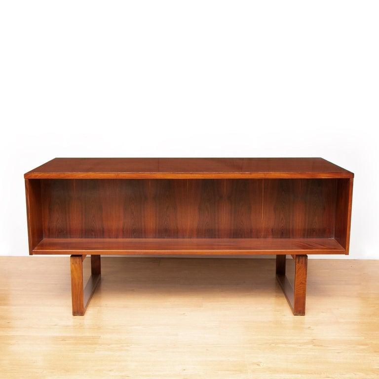 Mid-Century Modern Midcentury Rosewood Desk by Torben Valuer & Henning Jensen For Sale