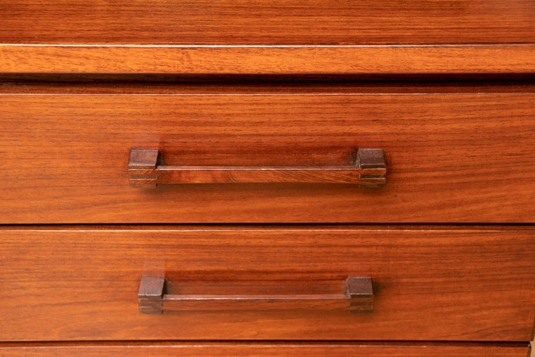Danish Midcentury Rosewood Desk by Torben Valuer & Henning Jensen For Sale