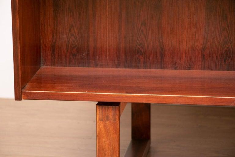 Mid-20th Century Midcentury Rosewood Desk by Torben Valuer & Henning Jensen For Sale
