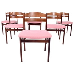 Midcentury Rosewood Dining Chairs, 1960s