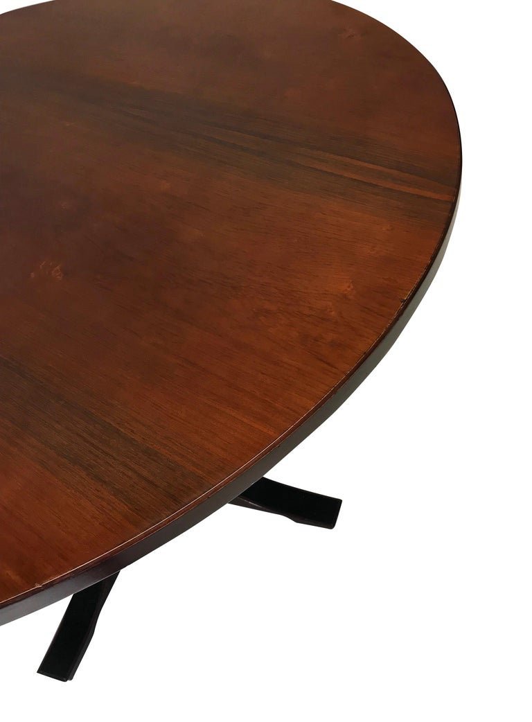 Italian Midcentury Rosewood Dining Table
