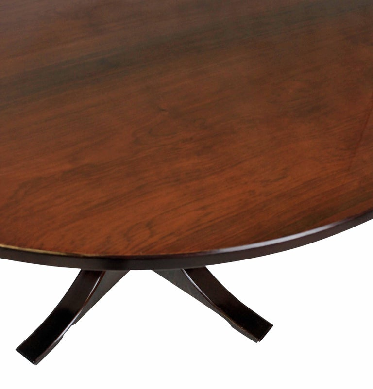 Midcentury Rosewood Dining Table In Good Condition In London, GB