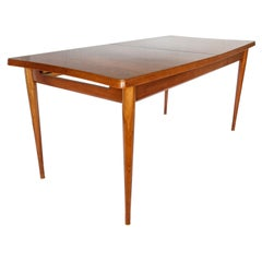 Midcentury Rosewood Extensible Dinning Table L. Layton & M. Lazarus for Uniflex