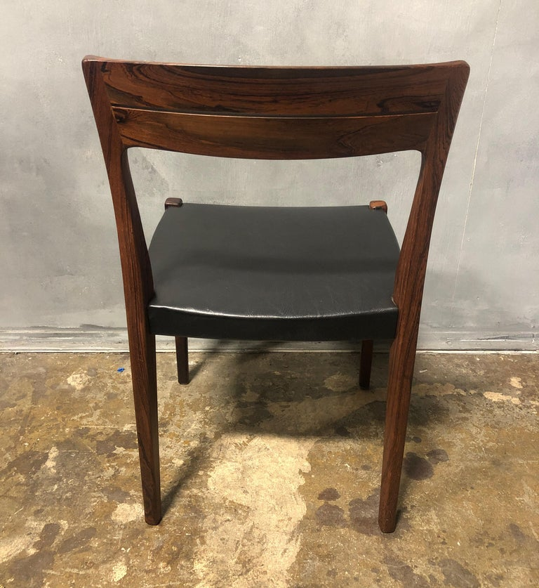 Mid-Century Modern Midcentury Rosewood Side Chair For Sale