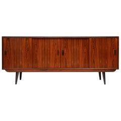 Midcentury Rosewood Sideboard by P. Westergaard Møbelfabrik