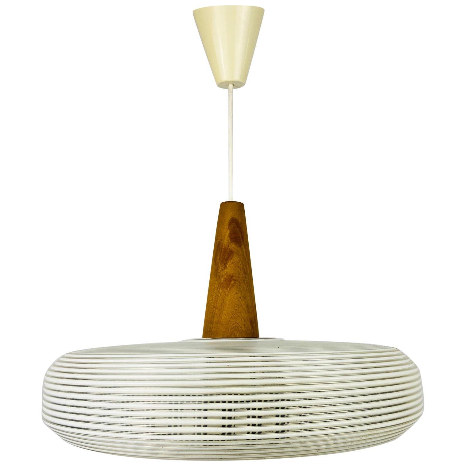 Midcentury Rotaflex Pendant Lamp, 1960s