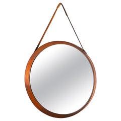 Midcentury Round Mirror Form the 1960s