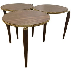 Midcentury Round Nesting Tables