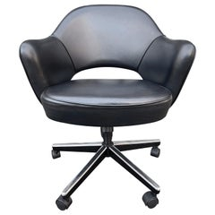 Midcentury Saarinen Executive Chairs for Knoll