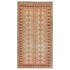 Midcentury Samarkand Handmade Wool Rug