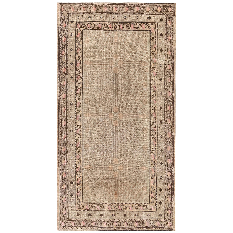 Midcentury Samarkand Rug