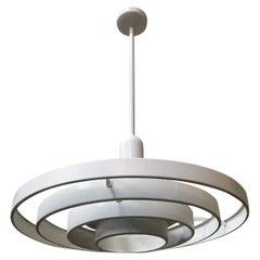 "Midcentury ""Saturn"" Ceiling Pendants by Kurt Versen"