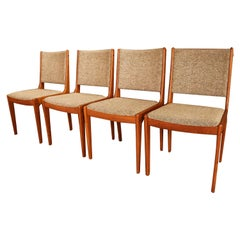 Midcentury Scandinavia Woodworks Co. Teak Dining Chairs