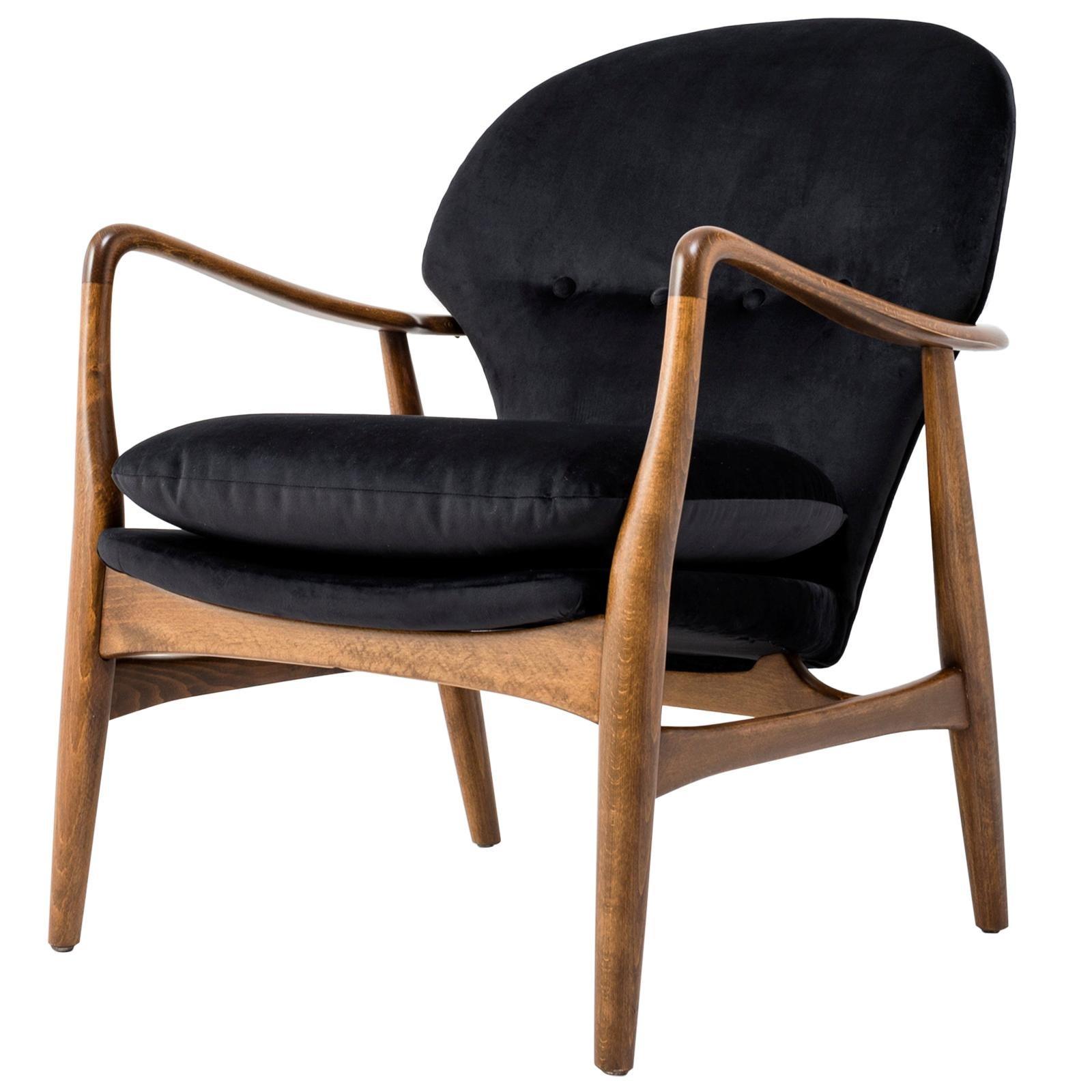 Midcentury Scandinavian Armchair - 1950s