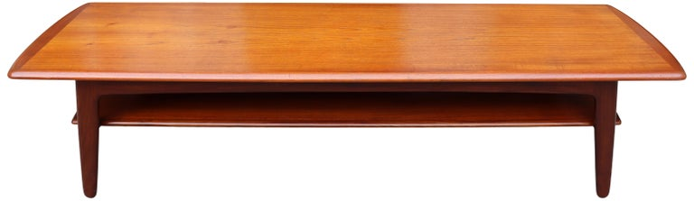 Midcentury Scandinavian Coffee Table by Svend Aage Madsen For Sale 5
