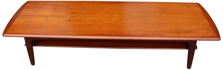 Mid-Century Modern Midcentury Scandinavian Coffee Table by Svend Aage Madsen For Sale