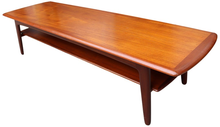 20th Century Midcentury Scandinavian Coffee Table by Svend Aage Madsen For Sale