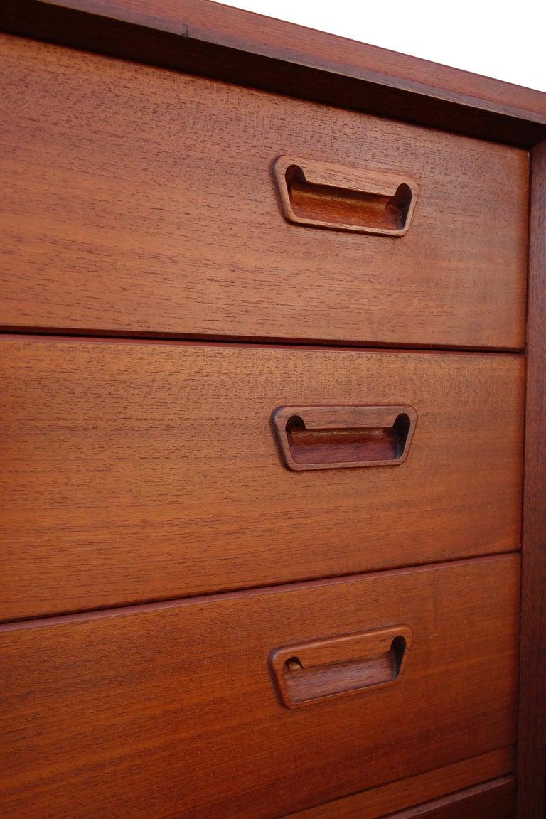 Midcentury Scandinavian Dresser Bedroom Set For Sale At 1stdibs