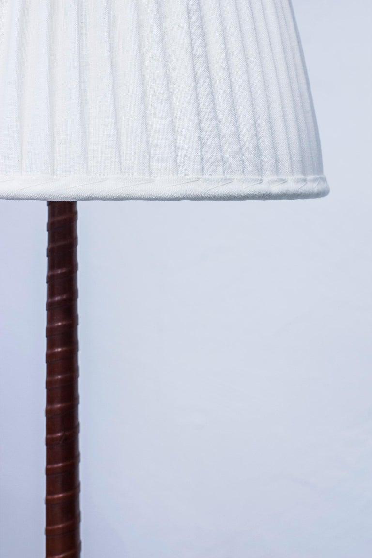 Midcentury Scandinavian Floor Lamp by Hans Bergström, Ateljé Lyktan, 1940s For Sale 5
