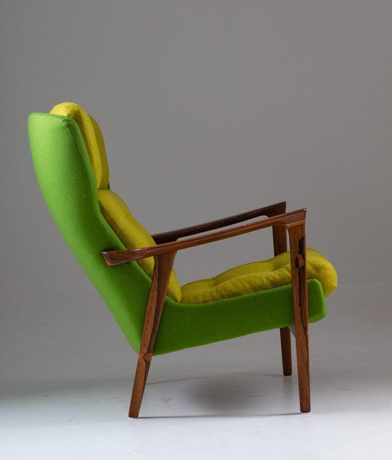 Scandinavian Modern Midcentury Scandinavian Lounge Chair by Bröderna Andersson For Sale