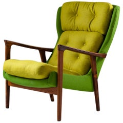 Midcentury Scandinavian Lounge Chair by Bröderna Andersson