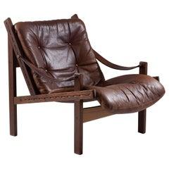 "Midcentury Scandinavian Lounge Chair ""Hunter"" by Torbjørn Afdal"