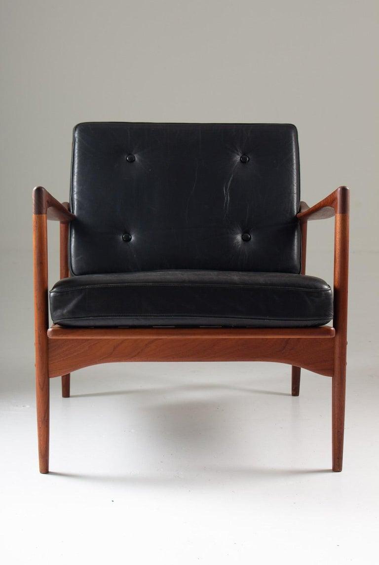 Swedish Midcentury Scandinavian Lounge Chair