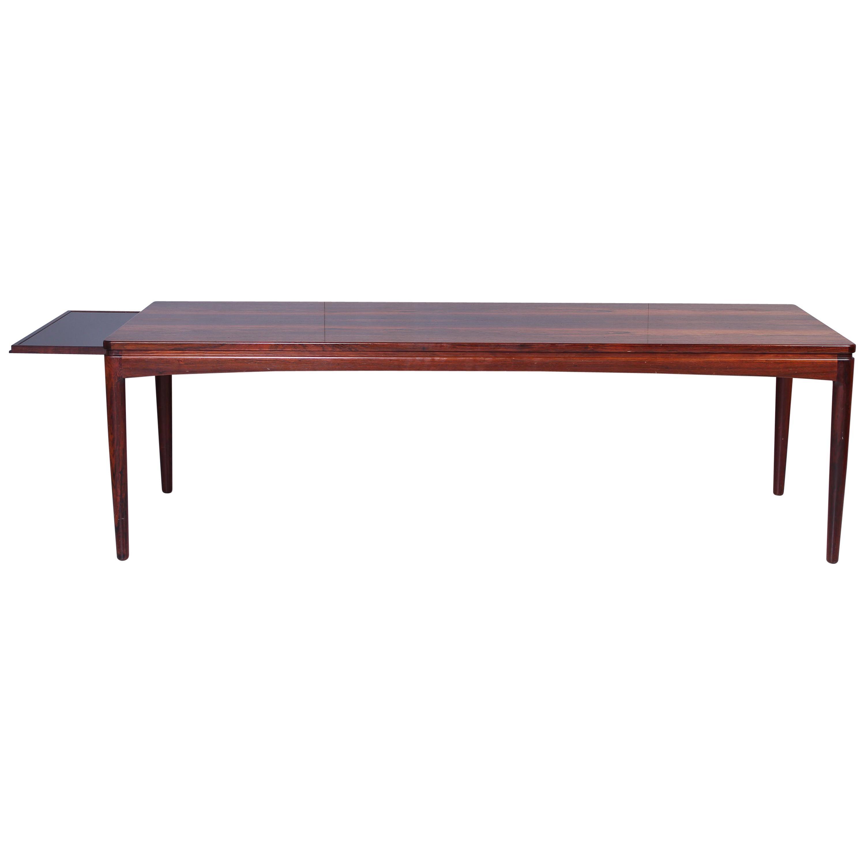 Midcentury Scandinavian Rosewood Coffee Table, 1950s