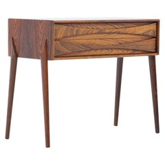 Midcentury Scandinavian Side Table by Rimbert Sandholt for Glas & Trä