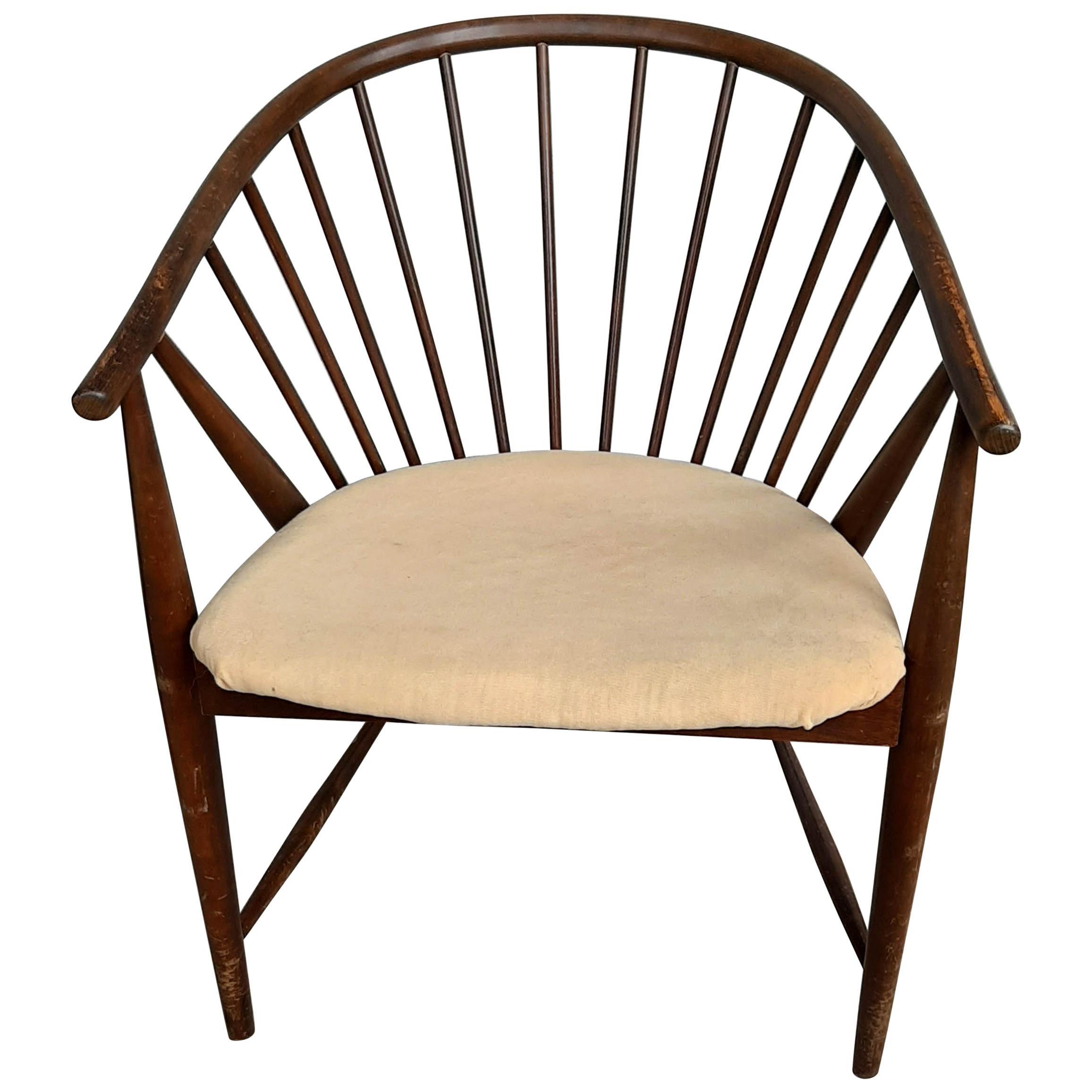 Midcentury Scandinavian Sunfeather Chair by Sonna Rosen