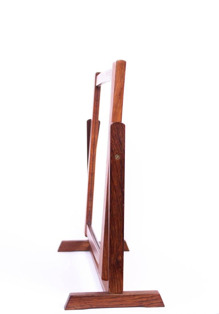 Scandinavian Modern Midcentury Scandinavian Table Mirror For Sale