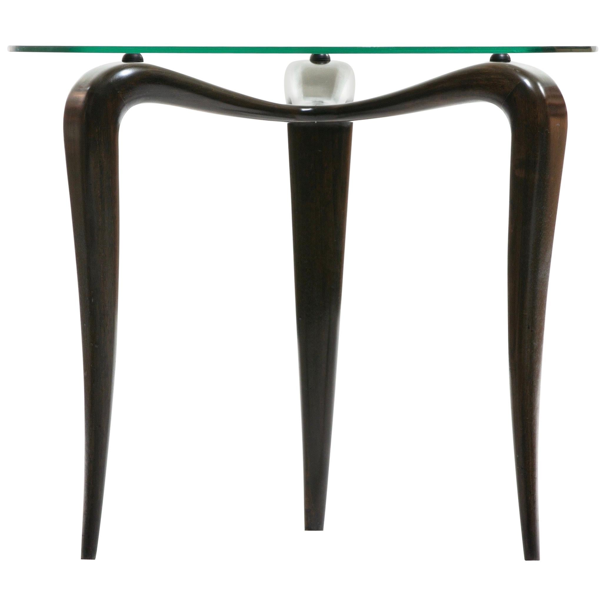 Midcentury Sculptural Italian Occasional Table