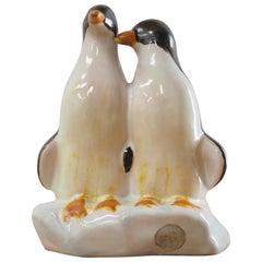 Midcentury Sculpture of Penguins, Jihokera, Czechoslovakia, 1940s