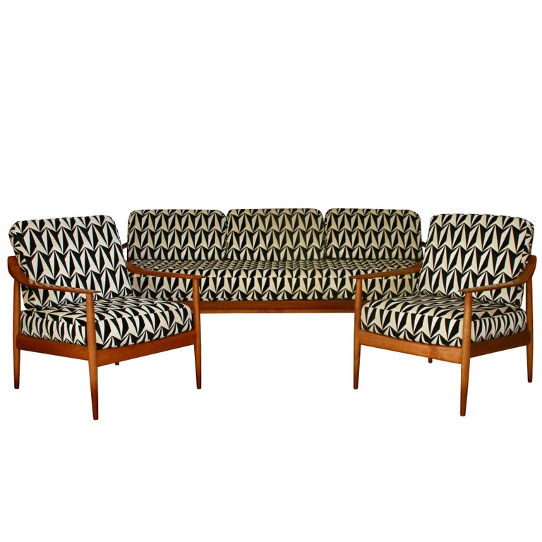 Seating Group by Walter Knoll, Antimott Series, Germany, 1950s For Sale