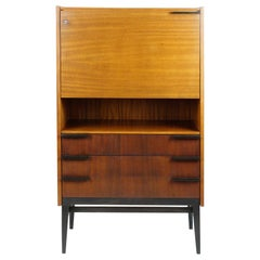 Midcentury Secretary Desk by František Mezulaník for UP Bucovice, 1960s