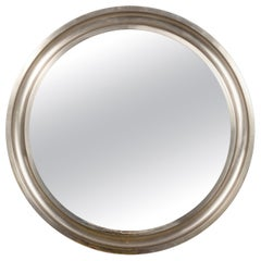 "Midcentury Sergio Mazza Round Italian Wall Mirror ""Narciso"" for Artemide, 1960"