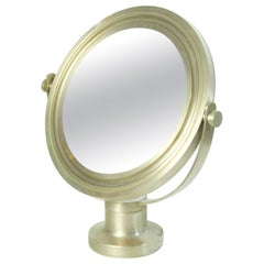 "Midcentury Sergio Mazza Table Mirror ""Narciso"" for Artemide, Italy"