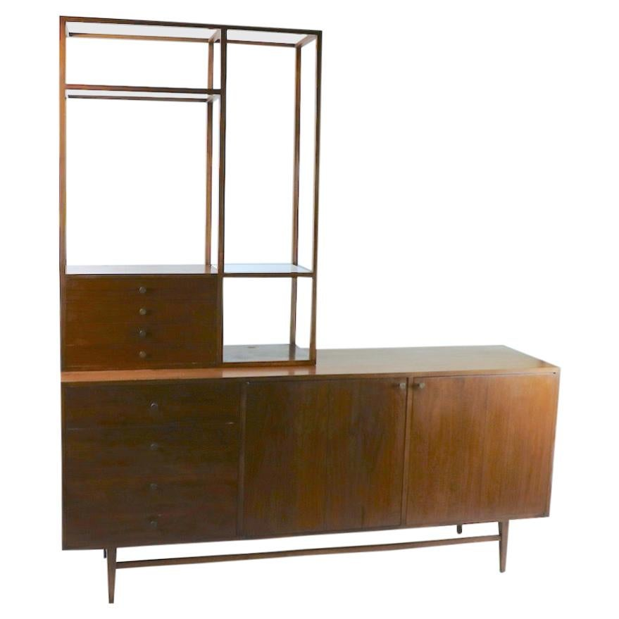 Mid Century Server Credenza Attributed to Paul McCobb
