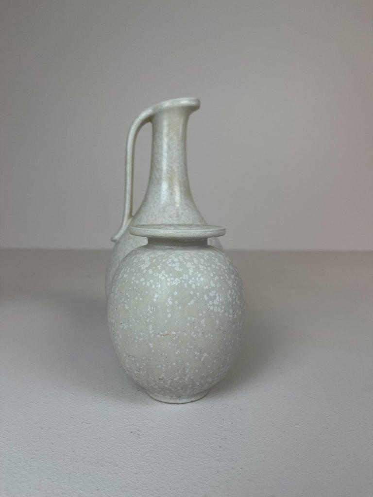 Mid-20th Century Midcentury Set of 3 Ceramic Pieces Rörstrand Gunnar Nylund, Sweden, 1950s For Sale