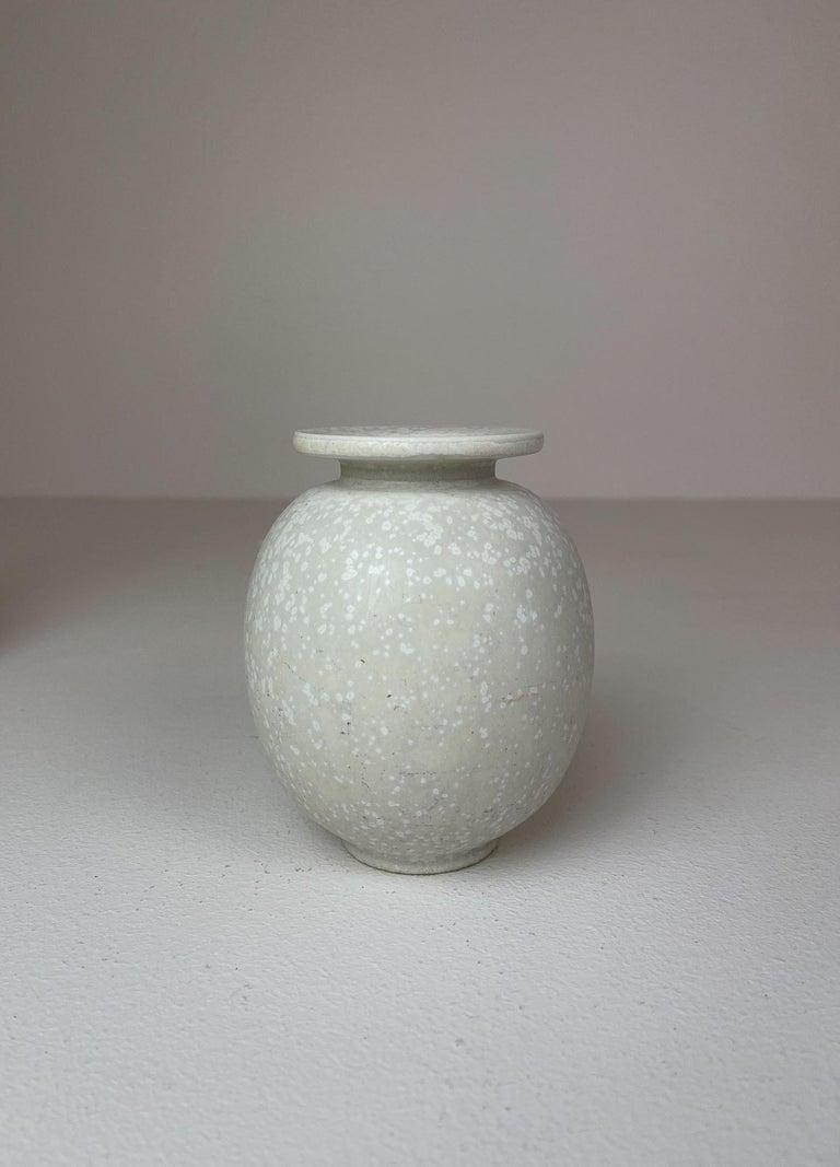 Midcentury Set of 3 Ceramic Pieces Rörstrand Gunnar Nylund, Sweden, 1950s For Sale 2
